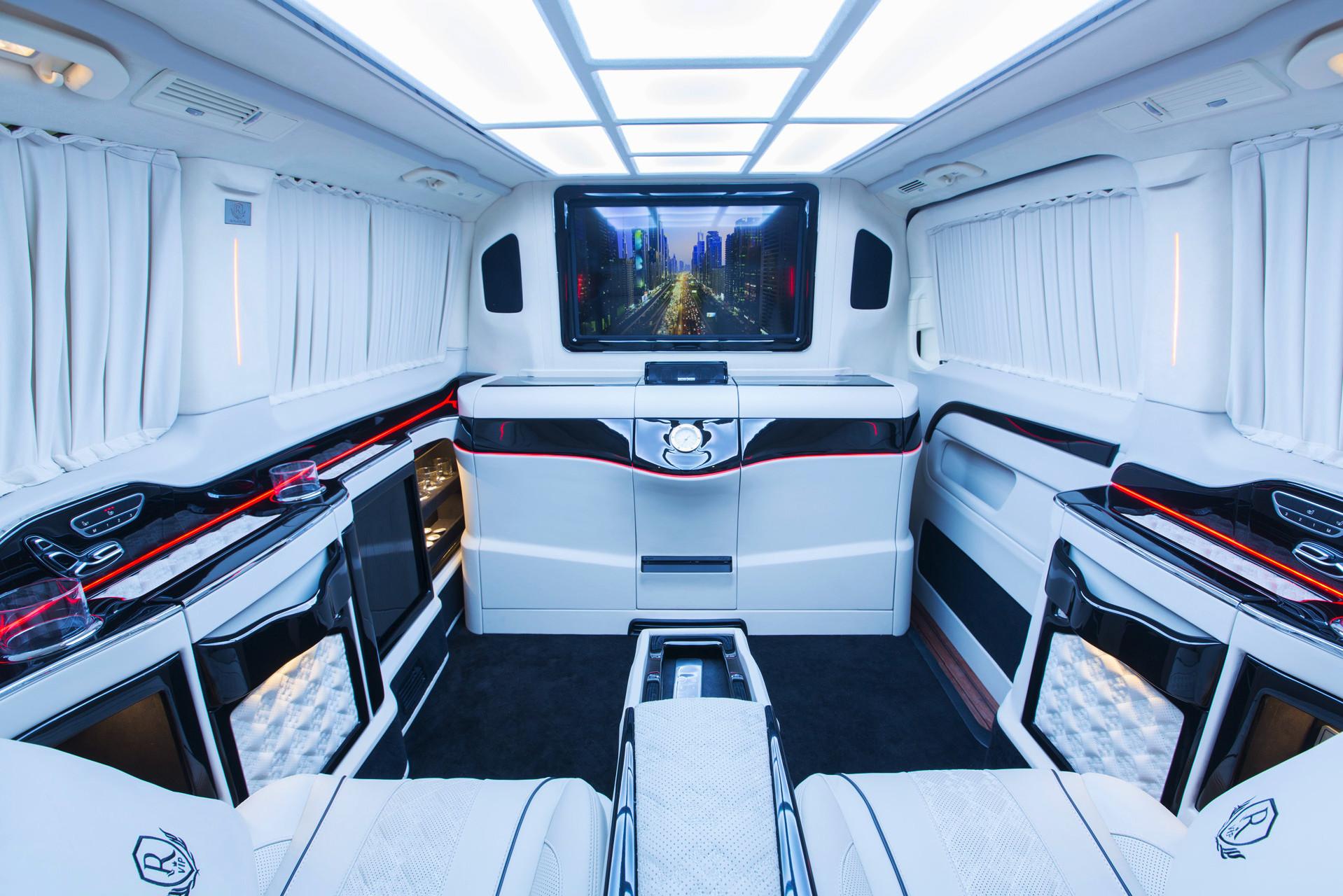 Mercedes Benz Van >> Mercedes-Benz Royal MB VIP Van – Rovelver Vip Auto Design