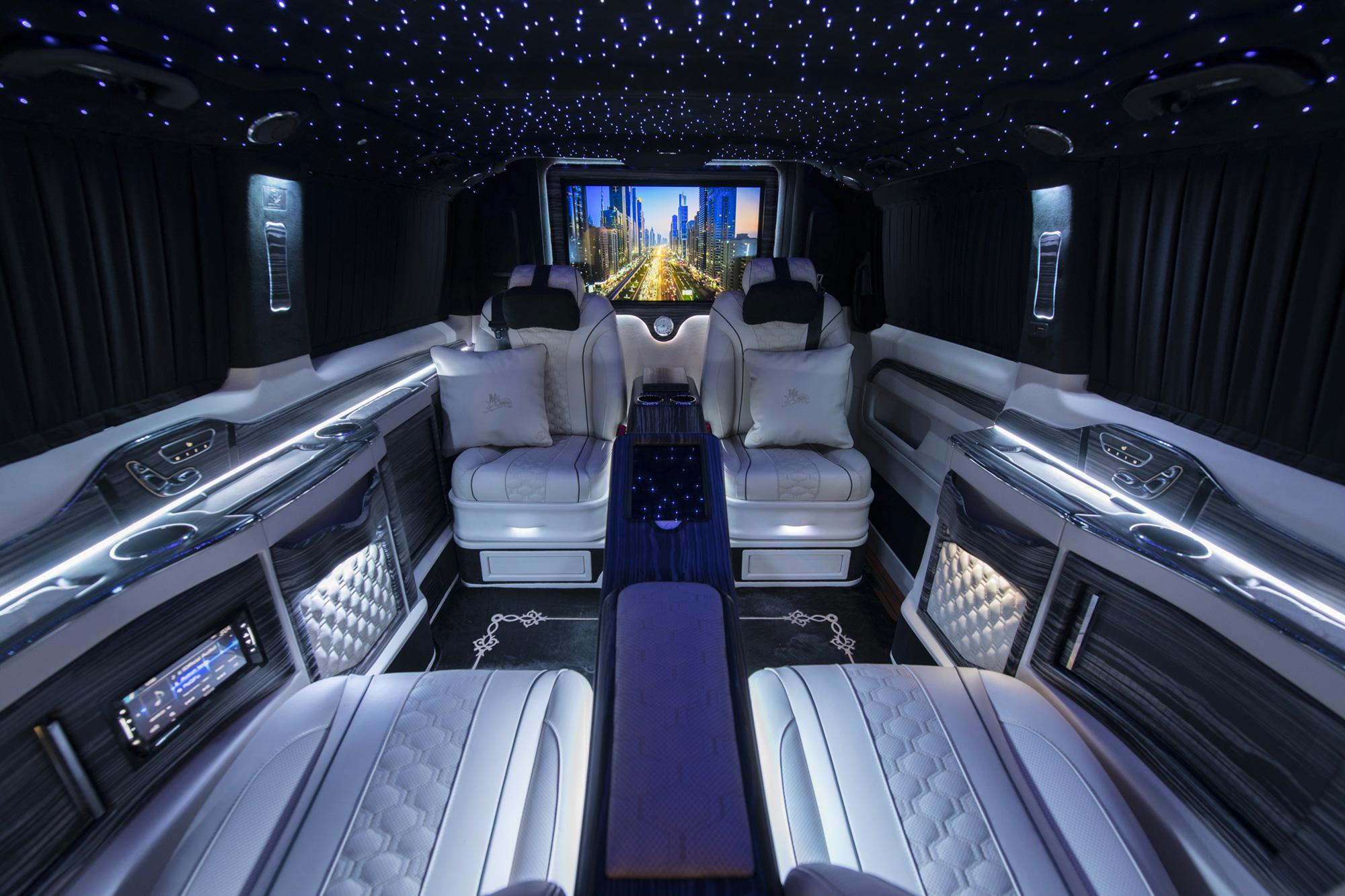 van de Mercedes luxe